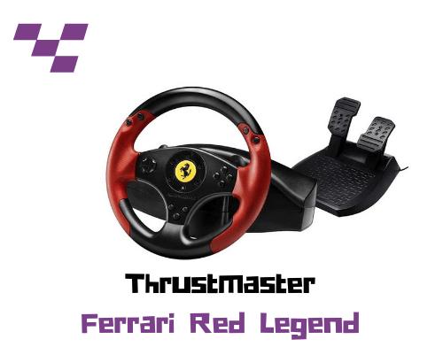 Thrustmaster - Volante Ferrari Red Legend