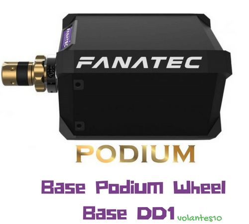 Fanatec Podium Wheel Base DD1 [ Para PC y Xbox One]