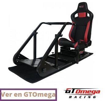 GT Omega ART Racing Cockpit
