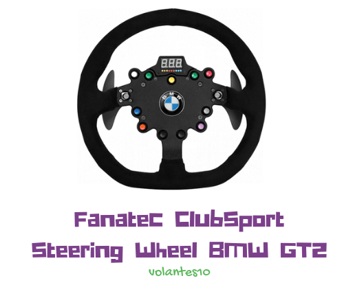 Fanatec ClubSport Steering Wheel BMW GT2
