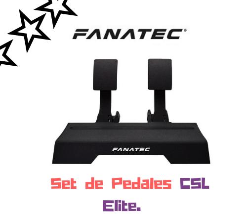 Set de pedales fanatec CSL Elite