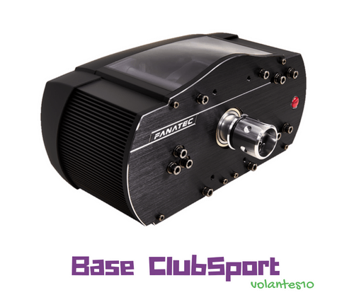 Fanatec ClubSport Wheel Base V2.5  [ Para PC y Xbox One]