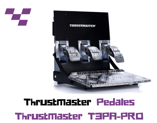 Pedales Thrustmaster T3PA-PRO