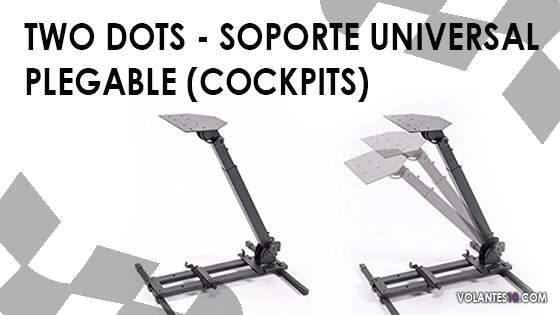 Two Dots – Soporte Universal Plegable (Cockpits)