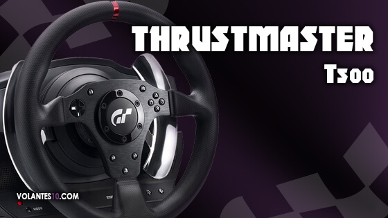 Volante Thrustmaster T500 RS