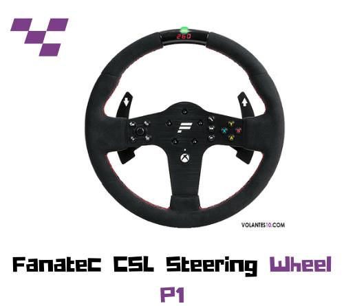 Aro Fanatec CSL Steering Wheel P1