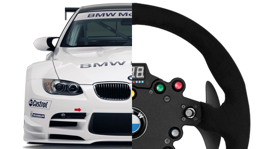 Fanatec ClubSport Steering Wheel BMW GT2 3