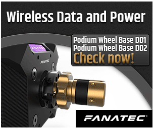 Fanatec Podium Wheel Base DD1 5