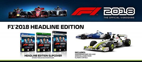 F1 2018, el videojuego oficial del Campeonato Mundial de Fórmula 1 2018
