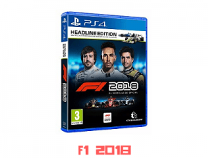 titulo F1 2018 + FANATEC