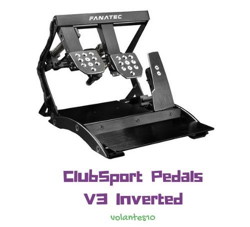 Fanatec ClubSport Pedals V3 [ inverted ]