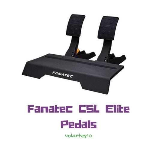 Análisis y Opiniones >> Pedales Fanatec CSL ELite Pedals