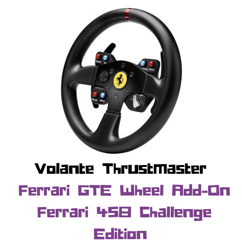 Volante Thrustmaster Ferrari GTE F458 Wheel (Add-On)