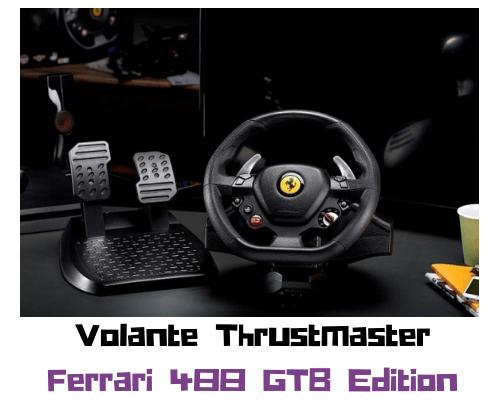 volante Thrustmaster T80 Ferrari 488 GTB Edition