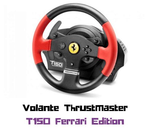 thrustmaster t150 ferrari wheel edicion
