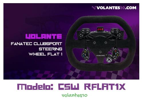 Fanatec ClubSport Steering Wheel Flat 1