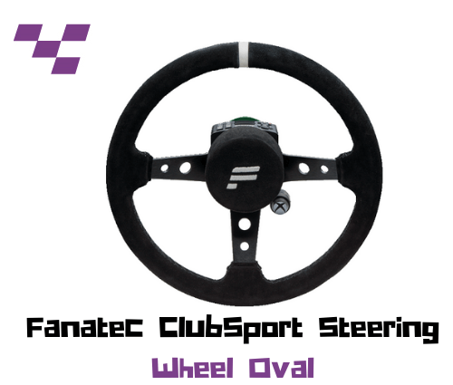 Aro Fanatec ClubSport Steering Wheel Oval
