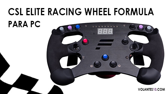 CSL Elite Racing Wheel Formula para PC
