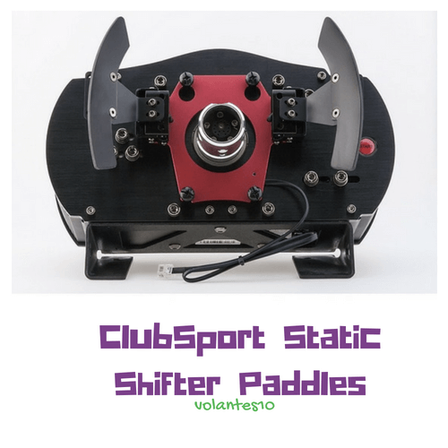 Análisis y Opiniones Fanatec ClubSport Static Shifter Paddles