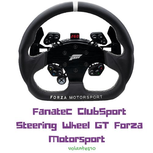 Aro Fanatec Clubsport Steering Wheel GT Forza Motorsport