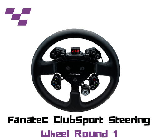 Aro Fanatec ClubSport Steering Wheel Round 1