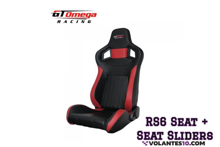 Asiento GT Omega Racing RS6 + [ Correderas ]