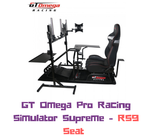 Chasis GT Omega PRO Racing [SUPREME] + Silla RS9