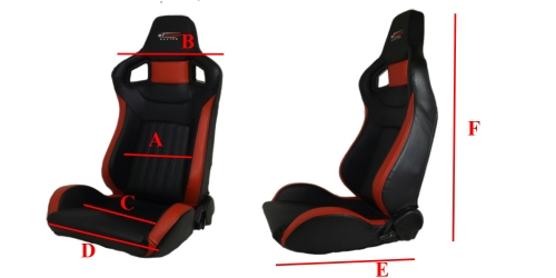 Asiento GT Omega Racing RS6 + [ Correderas ] 1
