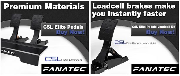 Fanatec CSL Elite Pedals LC 1
