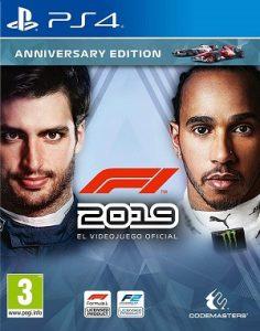 videjuego F1 2019