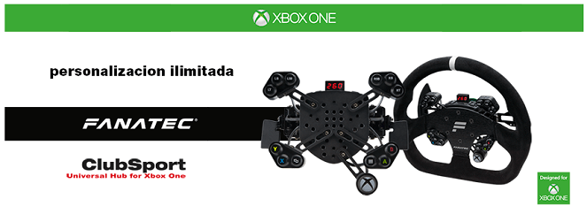 Fanatec ClubSport Steering Wheel Universal Hub for Xbox One 1