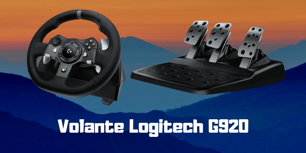 comprar volante logitech g920