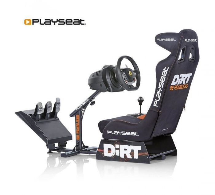 playseat dirt con volante y pedales