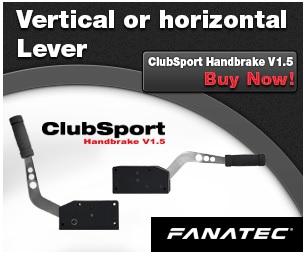 Fanatec ClubSport Handbrake V1 5 [ Freno ]