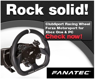 Fanatec ClubSport Racing Wheel Forza Motorsport 1