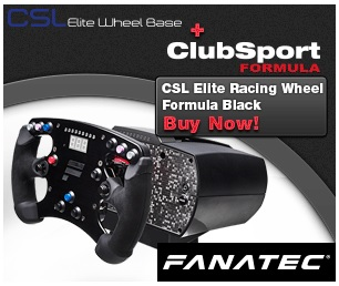 Fanatec CSL Elite Racing Wheel Formula Para PC 1