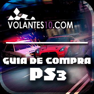 Los mejores volantes PS3 -Guia de compra 2019.