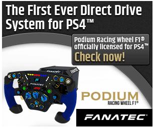 Fanatec Podium Racing Wheel F1® - Licencia oficial PS4™ 1
