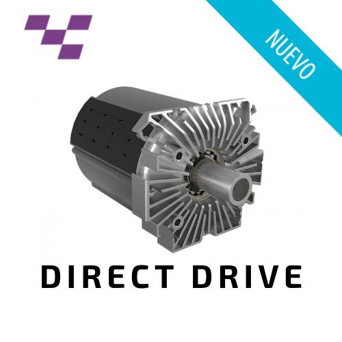 Motor patentado por Fanatec con tecnologia Direct Drive