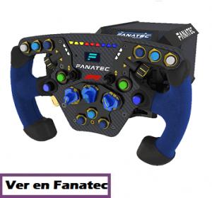 comprar volante fanatec podium F1