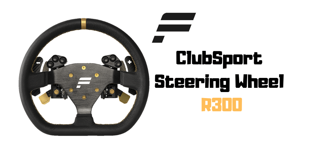 fanatec ClubSport Steering Wheel R300