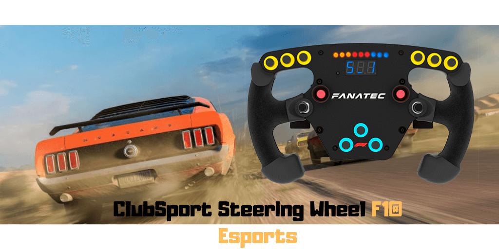 Fanatec ClubSport Steering Wheel F1® Esports 1