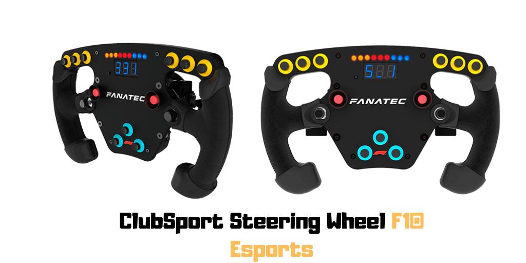 Fanatec ClubSport Steering Wheel F1® Esports 3