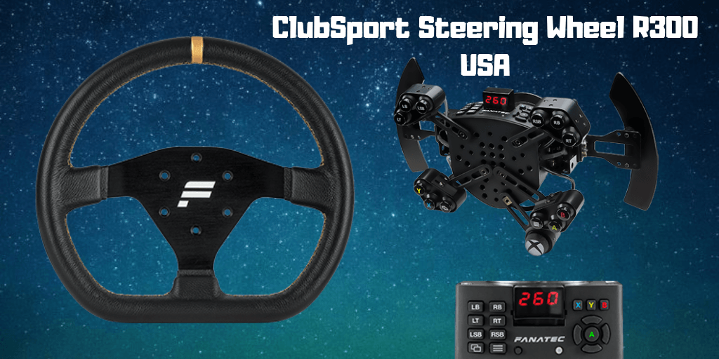 Fanatec ClubSport Steering Wheel R300 EU 2