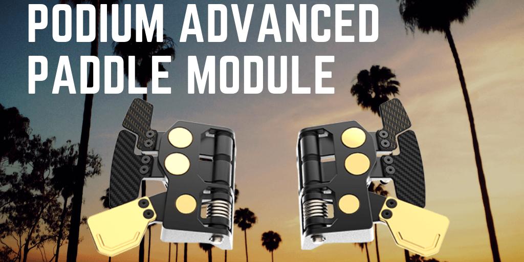 Fanatec Podium Advanced Paddle Module