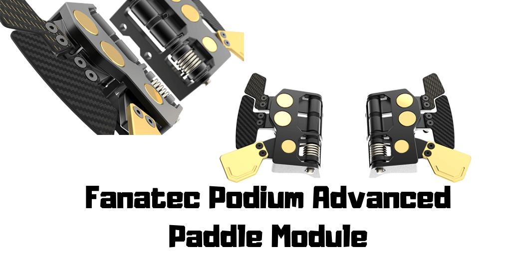 Fanatec Podium Advanced Paddle Module 3