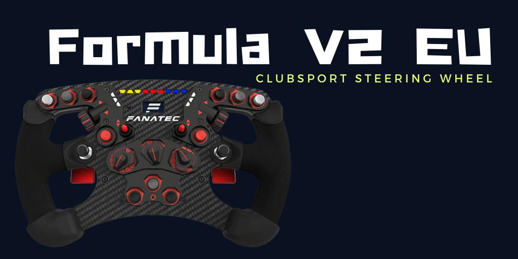 fanatec ClubSport Steering Wheel Formula V2 EU